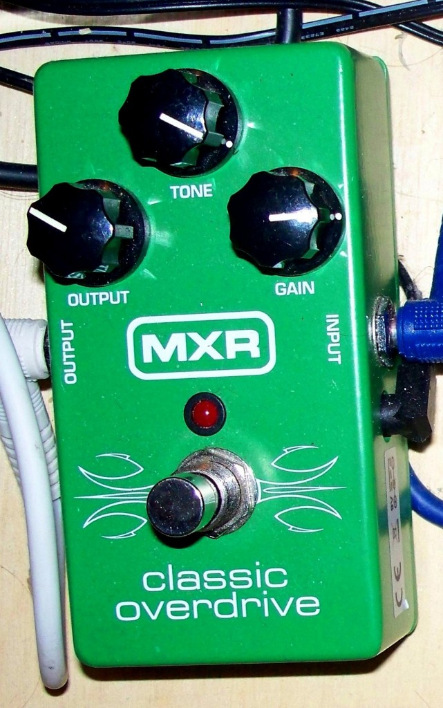 distortion effects- MXR Classic Overdrive M-66