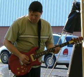 Aria Pro II CS-350 Cardinal -Me playing at the 2009 NECC Outreach event