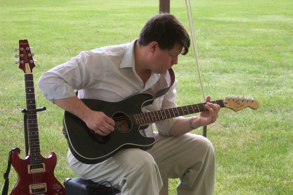 Me and my Fender Stratacoustic